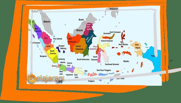 34 Nama Provinsi Di Indonesia Dan Ibukotanya Lengkap Ilmu Pengetahuan Sosial Ips